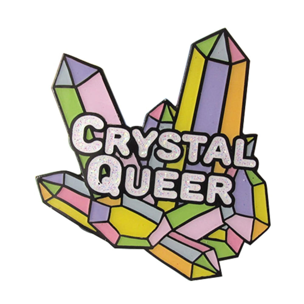Кристалл Queer эмалевый штифт