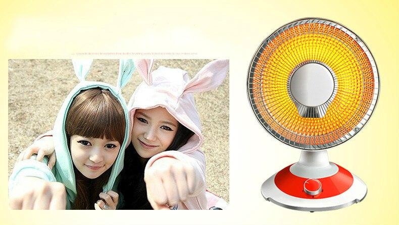 Calentador solar pequeño, calentador eléctrico silencioso para el hogar, ahorro de energía, estudiantes del calentador eléctrico de la provincia