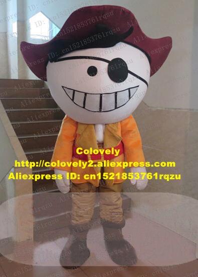 Ladrón Bandit pirata Highwayman sinverl Ruffian Hoodlum Evildoer mascota disfraz adulto-Sombrero marrón negro Blinder No. zz2509