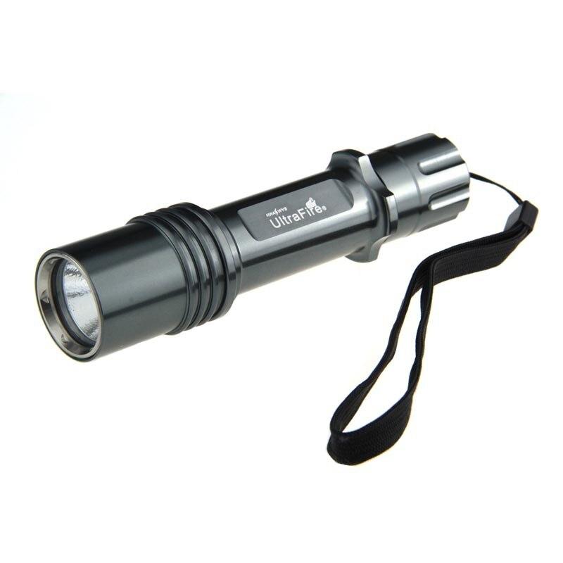 Ultrafire كري XML-T6 5 وضع الصمام مصباح يدوي 18650 بطارية شاحن الشعلة الصيد التخييم لوز فلاش ضوء