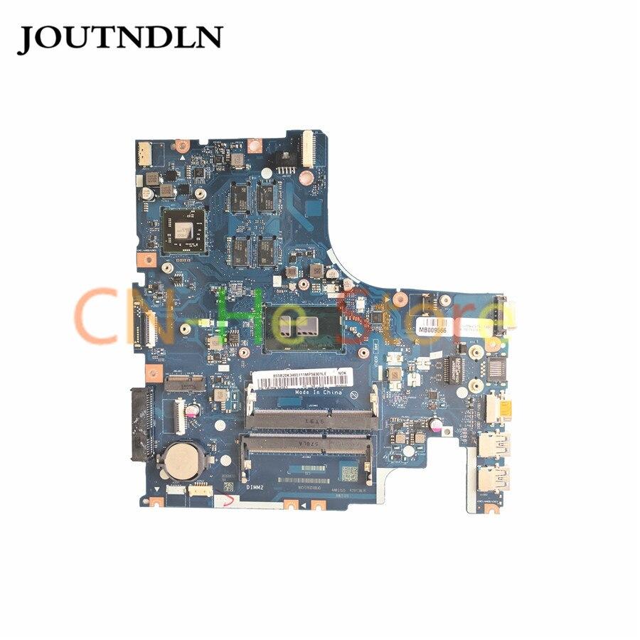 JOUTNDLN para LENOVO IDEAPAD 500-15ISK placa base de computadora portátil 5B20K34583 AIWZ2 AIWZ3 LA-C851P w/i5-6200U y R7 M360 GPU