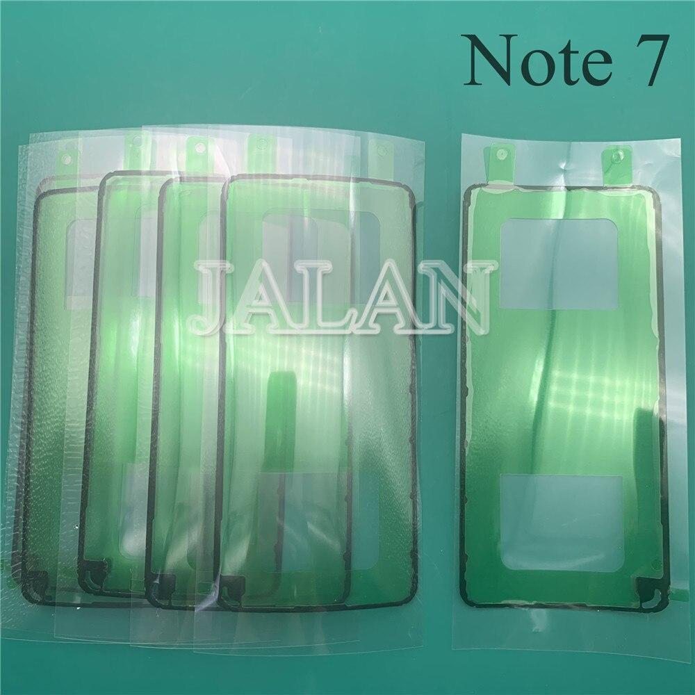 JALAN 20 piezas para Samsung Galaxy Note 7 batería trasera pegatina cinta adhesiva impermeable N7 Note FE cubierta trasera reacondicionado reparación