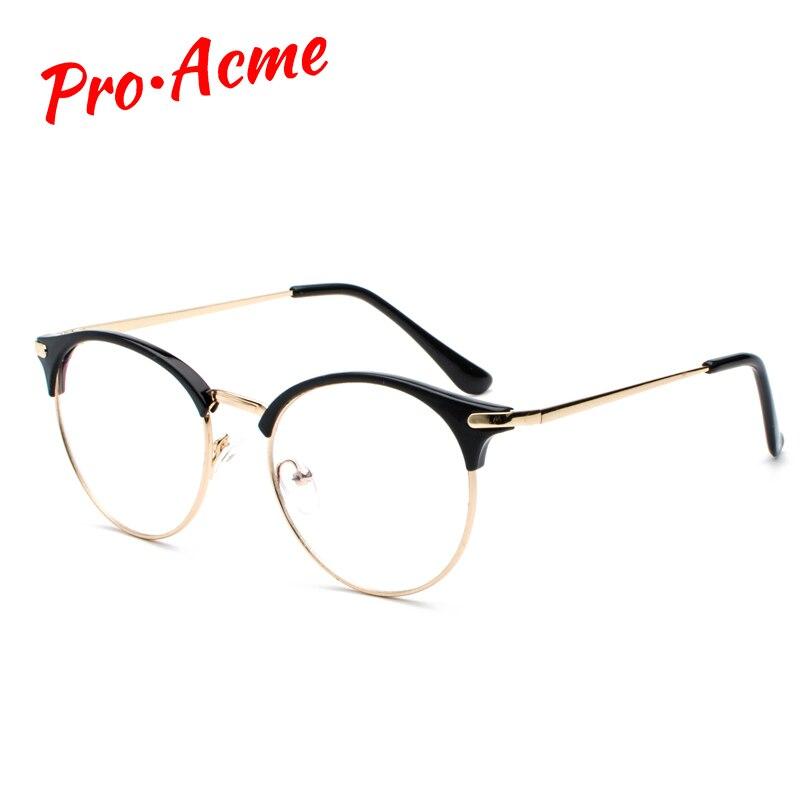 Pro acme óculos de olho de gato óculos de prescrição óptica óculos de lentes transparentes lentes opticos mujer cc1159