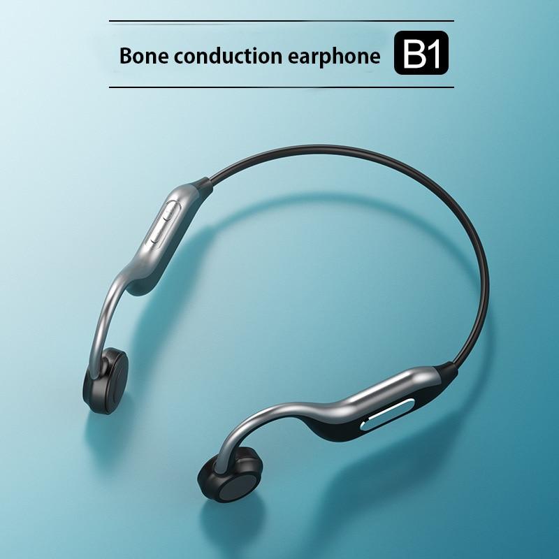 TWS Bone Conduction Headset Headphones with Mic Wireless Fone De Ouvido Bluetooth Earphones for Oneplus 6 5T 6T 7 Pro 5G Earbuds