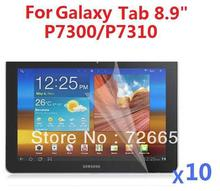 "For Samsung Galaxy Tab 8.9"" P7300 P7310 High Clear Screen Protector Guard X 10 PCS"