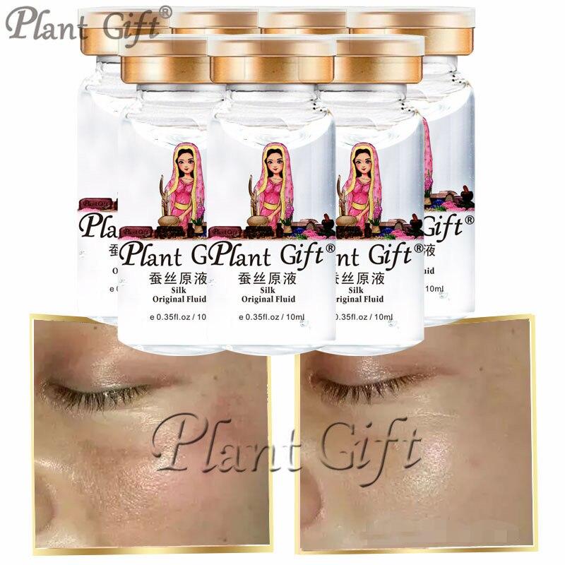 Plant Gift Hot Sale Silk Original Fluid Dissolve Toxins, Drain Contaminants, Absorb Nutrients, Restore Skin Elasticity 10ml*7pcs