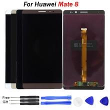 Pour HUAWEI Mate 8 LCD écran tactile numériseur assemblée remplacement écran LCD remplacer NXT-L29 MT8 affichage pour Mate8 LCD