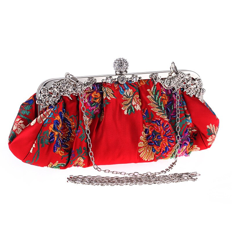 fashion-pleated-evening-bags-totes-bag-womens-chain-shoulder-bags-red-black-female-embroidery-pearls-beading-handbag
