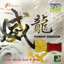 Original Palio Power Dragon (BIOTECH) court ping-pong/ping-pong en caoutchouc avec éponge 2.0mm
