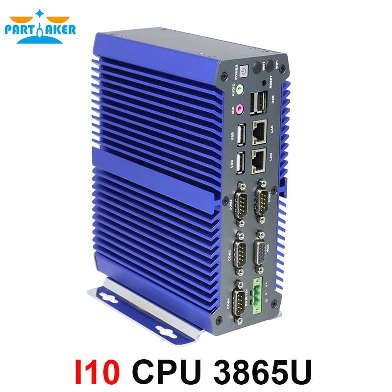 Partícipe DDR4 Mini PC ordenador industrial kabylake 3865U 2 Intel Core 2...