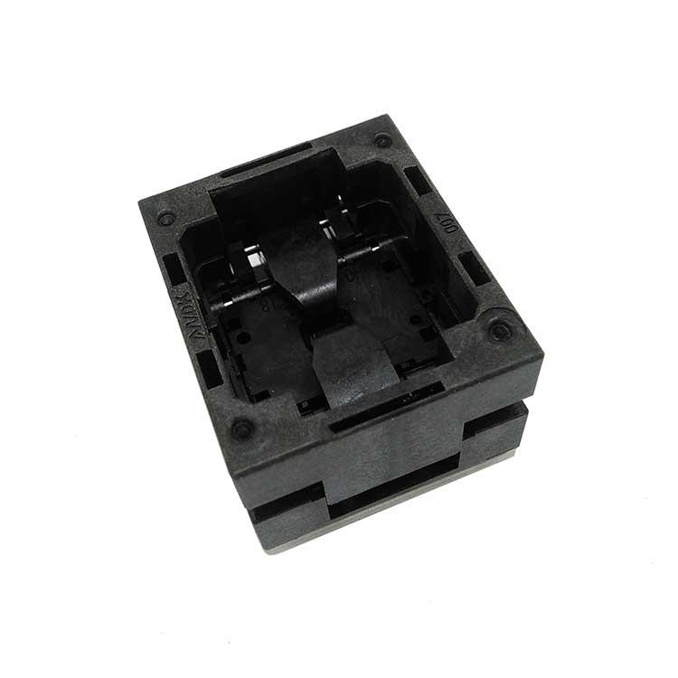 SOT23-6-0.95 OPEN TOP Pogo Pin Probe Test Socket SOT23-6-0.95-TP01PNL Burn in Socket Pitch 0.95 Chip Size 1.6*3mm