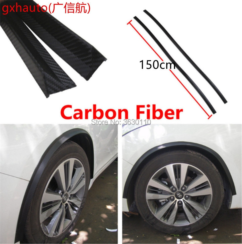 Rueda blanda protectora de cejas, tira de moldura de arco para rueda, compatible con citrozo Grand C4 Picasso Opel Corsa GSi OPC Nissan Xtrail