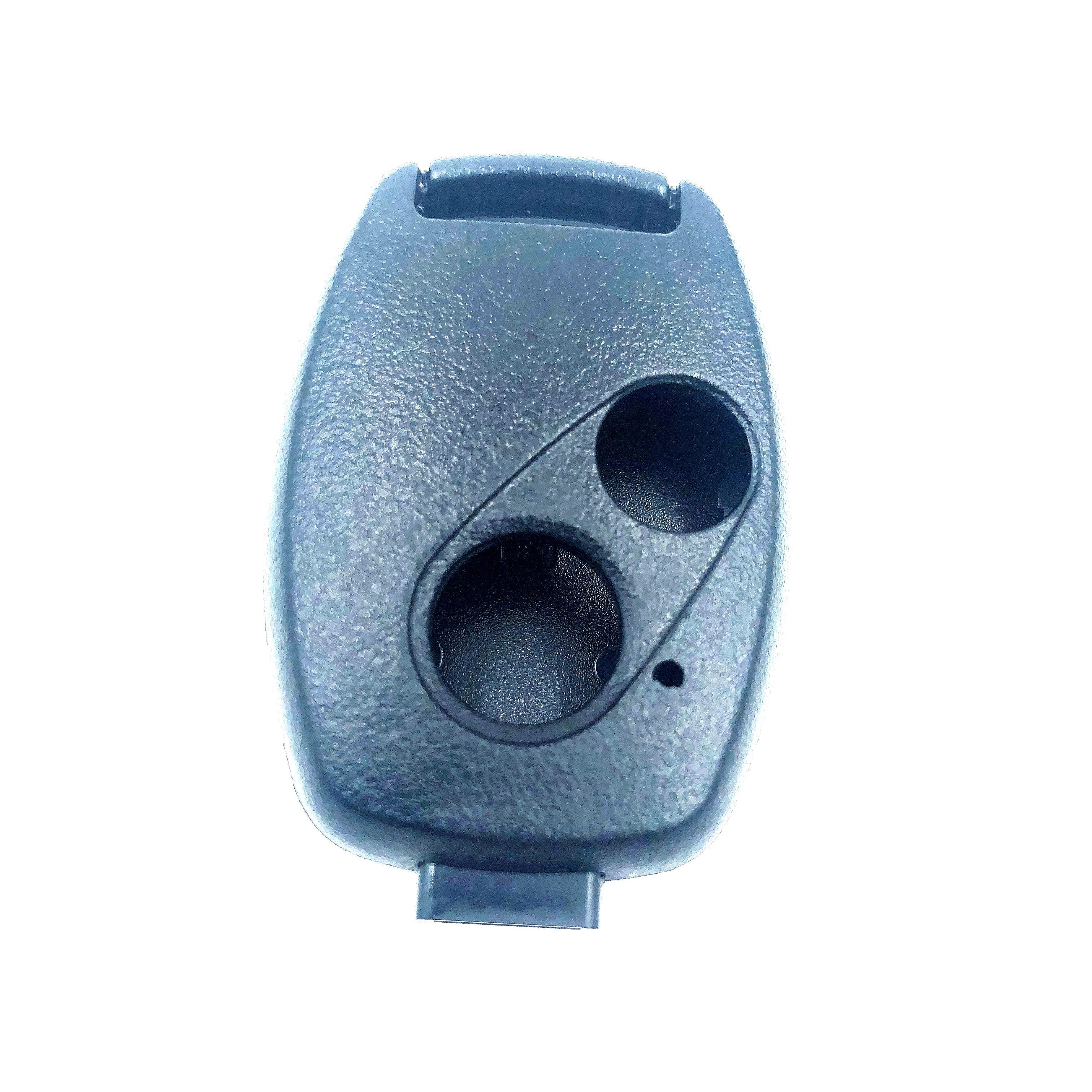 2 Button Car Remote Case Blank Key Fob for HONDA Accord Civic CRV HRV Jazz Pilot 2007 2008 2009 2010 2011 2012 2013 Key Shell