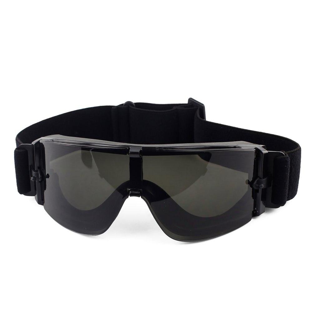 Gafas de sol tácticas de color negro Tan verde Airsoft gafas de sol tácticas USMC gafas de Paintball de ejército Airsoft