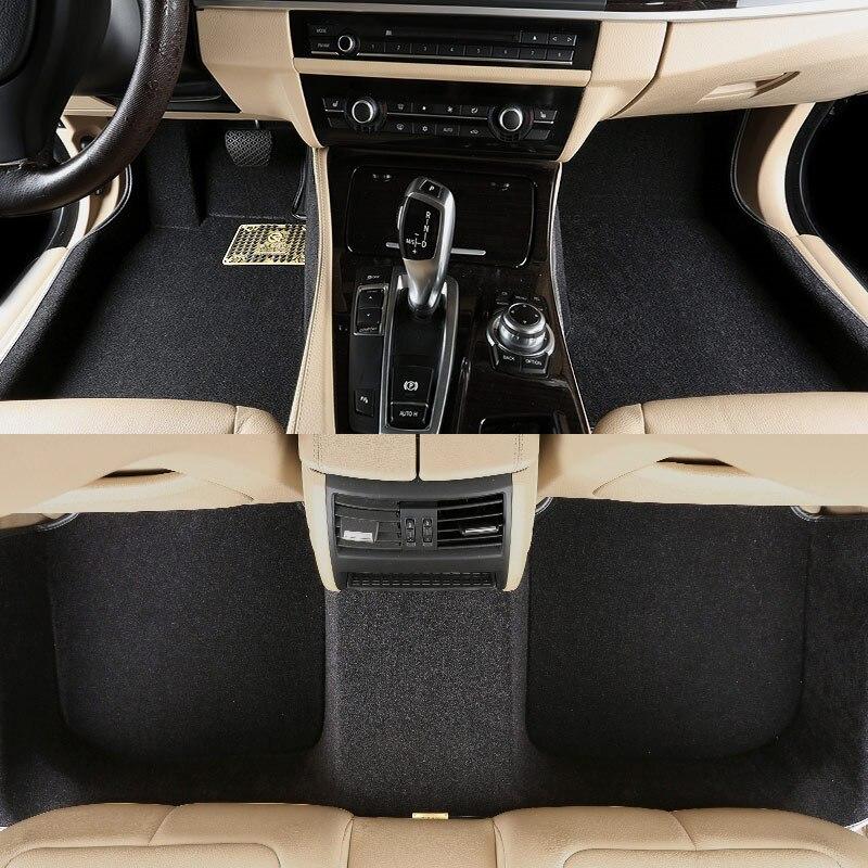 Alfombrilla para el suelo del coche, alfombrilla para BMW 4 series F32 F33 F36 BMW 5 series GT F07 F10 F18 BMW 6 series F06 F12 F13