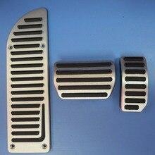 DEE Auto Zubehör aluminiumlegierung accelerator gas bremspedal für VOLVO S60 S80L S60L XC60 V60 V70 AT pedal platte pads abdeckungen