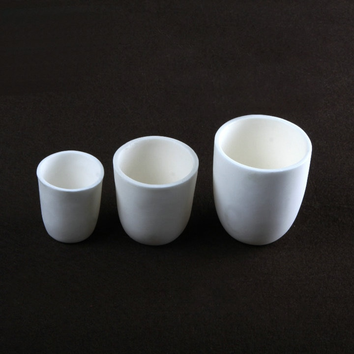 1pc/lot 10/20/30/50/100/150/200ml/250/500ml Aluminum oxide ceramics crucible Free shipping