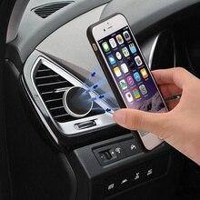 Ventilación de aire Universal para coche soporte magnético para teléfono móvil para BMW E60 Ford focus 2 Kuga Mazda 3 cx-5 Volkswagen Polo Volkswagen Golf 4 6 GTI