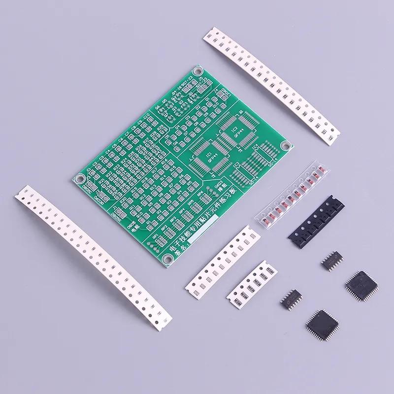 Kit de soudage électronique pour débutant, 1 Kit de formation en PCB