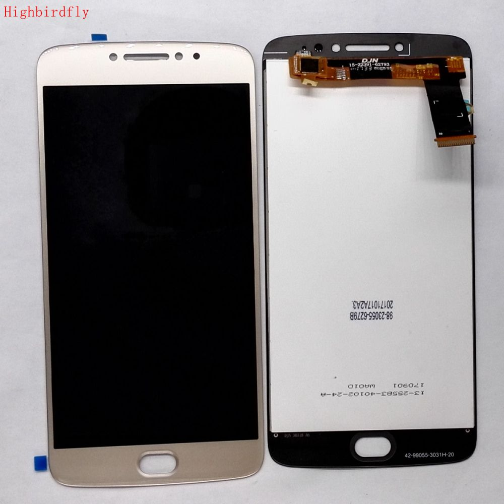 Para Motorola Moto E4 más XT1770 XT1773 XT1771 pantalla Lcd + Touch digitalizador de vidrio de la Asamblea de piezas de repuesto