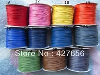 1 0mm 26 colors shamballa wax snake rope string cordsjewelry beading cordfit for bracelet necklacediy accessory jewelry