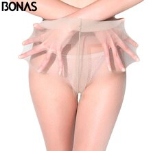 BONAS 12D Spider Stockings Tights Tear Resistant Nylon Tights Pantyhose Women Summer Hosiery Pants Drop Shipping Pantyhose