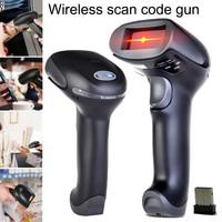 1 Pcs Wireless Handheld Barcode Scanner Reader Long Range USB Portable for POS