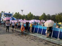 Newest type adult big plastic swimming pools, hard plastic swimming pools, rectangular metal