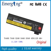 11.22 v 72wh bateria original nova para lenovo thinkpad t440s t440 x240 s440 s540 45n1125 68 +