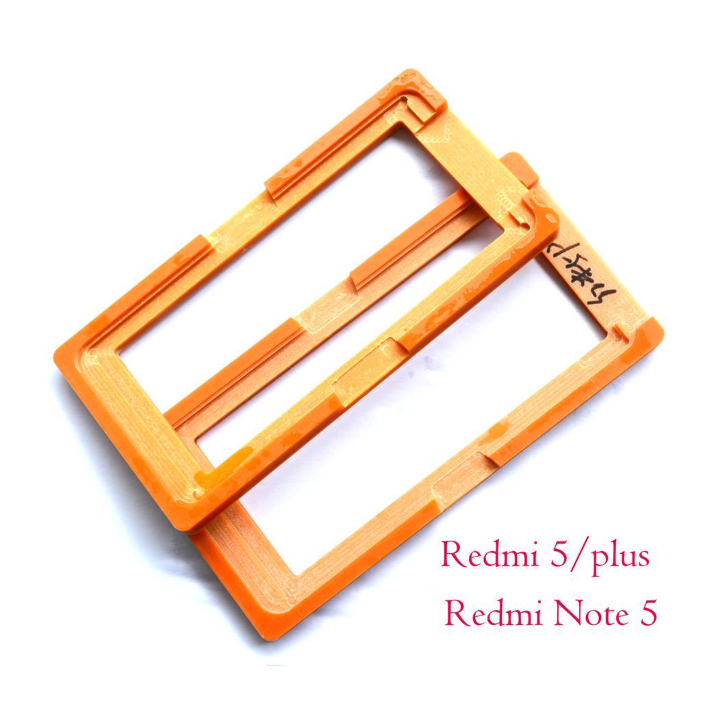 PF LCD Esterno della Lente di Vetro Dello Schermo di Visualizzazione Colla OCA Allineamento Stampo Stampo Per xiaomi Redmi 5 plus /Redmi Note5 pro Redmi5