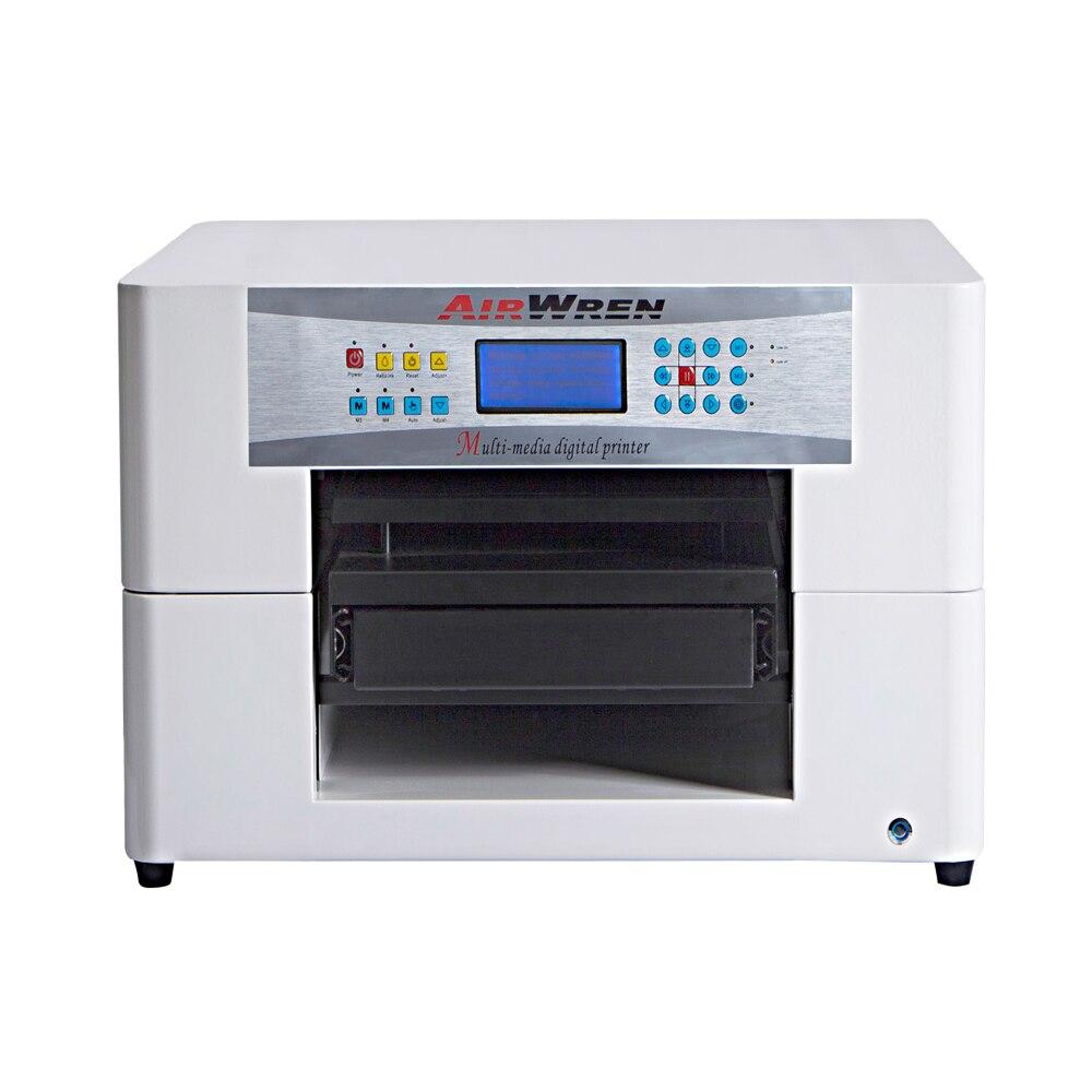 2017 top-selling DTG model A3 t shirt printer, dirct textile printing machine
