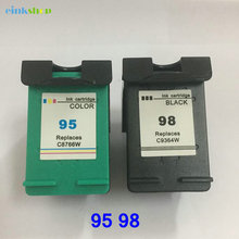Einkshop compatible For hp 95 98 Ink cartridge for hp Officejet 100 150 400 H470 6300 Deskjet 5940 D4145 D4155 Photosmart C4100