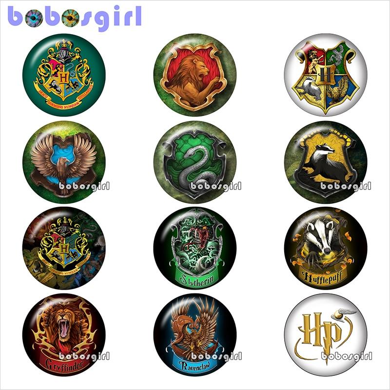 12pcs mixed set magic 18mm glass snap button jewelry DIY women girls BP513
