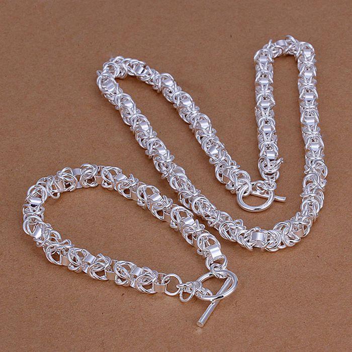 Комплект ювелирных изделий из серебра 925 пробы, Модный комплект ювелирных изделий из стерлингового серебра 925 пробы с головой дракона