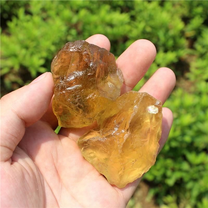 1/4lb cristal natural de citrino cuarzo piedra, Nunatak escultura decoración suerte mineral chakra energético piedras venta al por mayor