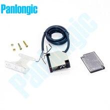 Фотоэлектрический переключатель с рефлектором, светоотражающий, темно-синий, Предварительно проводной, 90-250 в перем. Тока, E3JK-R4M2, бесплатная ...