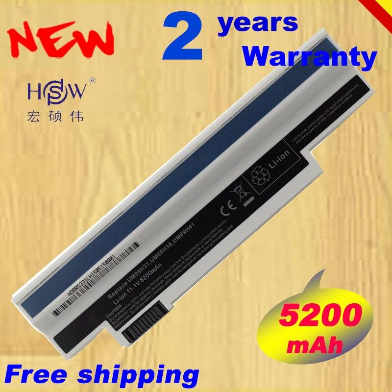 HSW 5200MAH Aspire 532h UM09H41 UM09H71 AO532h-2Bb AO532h-W123 UM09G75 UM09G41 NAV50 AO532h-2223...