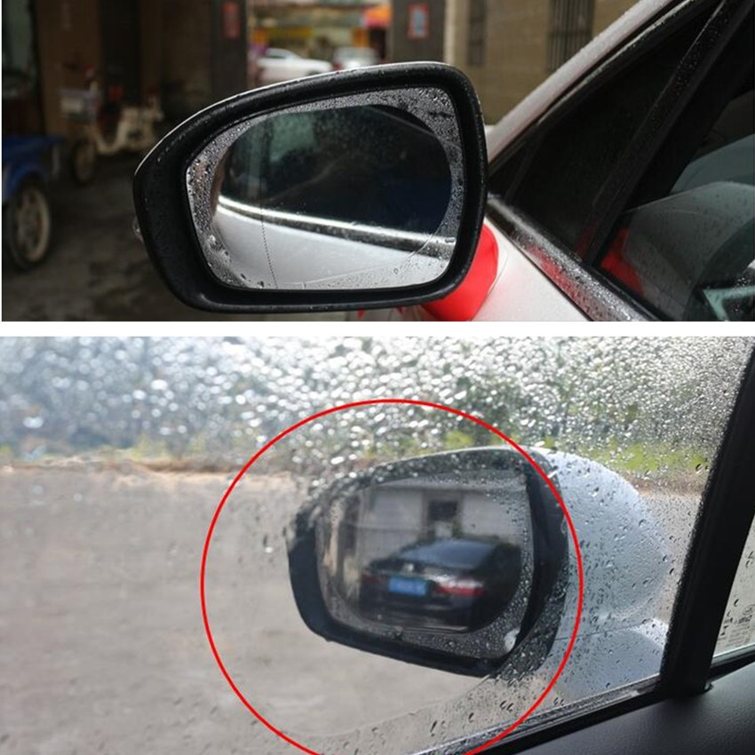 Espejo retrovisor para coche lluvia y anti-niebla película para priora renault clio 2 hyundai i20 golf mk2 clio 2 subaru xv renault clio