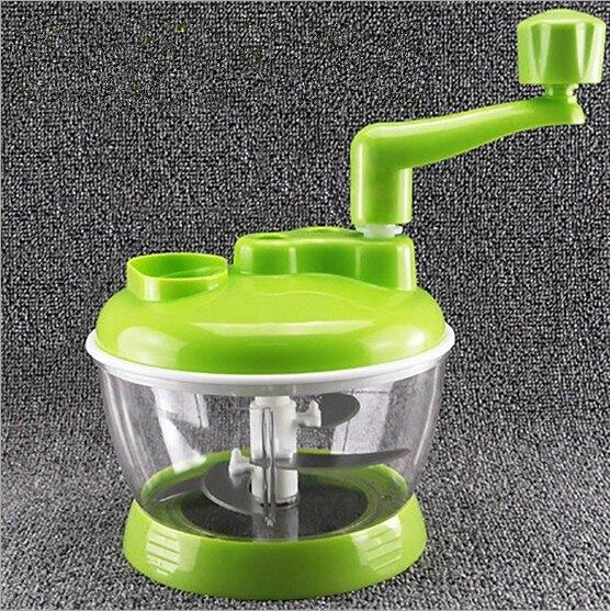 Trituradora multifuncional de 1 pieza, trituradora de verduras, trituradora de carne, trituradora de carne Manual rota, máquina de cocina OK 0524
