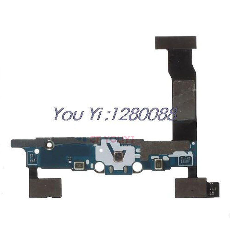 CFYOUYI Nota4 USB Conector Dock de Carregamento Porto Flex Cable Parte Substituição Para Samsung Galaxy Note 4 N910K N910F N910S N910A