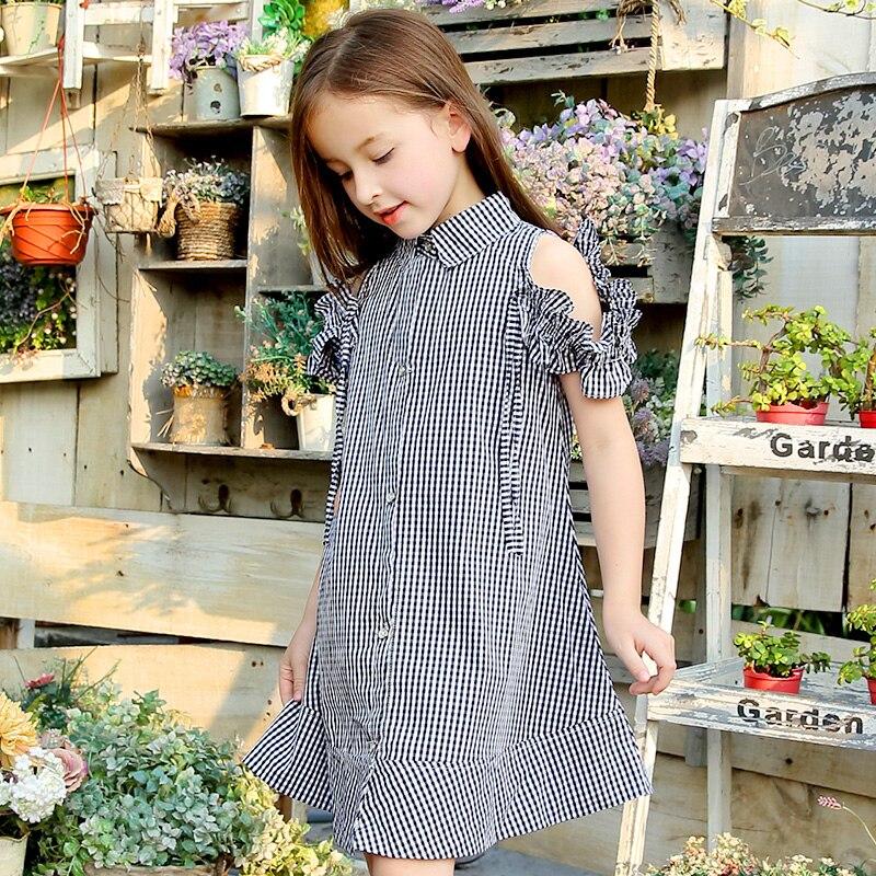 الفتيات فستان صيفي منقوشة الأطفال فستان الأميرة فساتين الموضة للفتيات 5 6 7 8 10 11 12 13 15 سنة