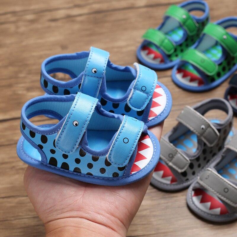 Nuevo estilo de verano, nuevas sandalias para niños y bebés, zapatos para niños pequeños, zapatos de lona de fondo suave para verano, primeros pasos
