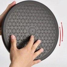 Multipurpose Draaitafel Lazy Susan 360-Swivel Keuken Cake Voedsel 220 Lb Capaciteit Dual Ring Kogellagers