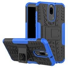 Cover for Huawei Nova 2i Case for Huawei Nova 3i Shockproof Hard TPU Silicone Rugged Armor Phone Case Stand Holder