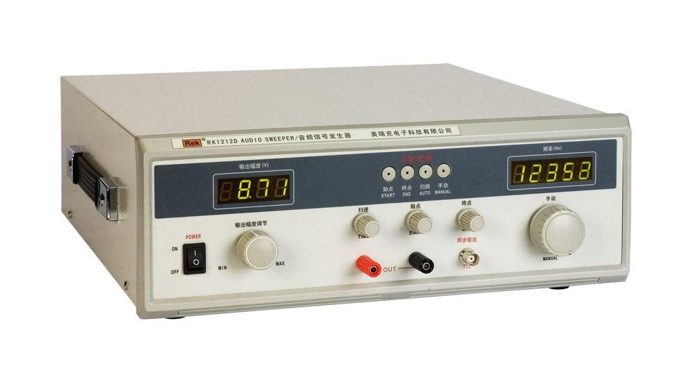 Llegada rápida Rek 40W generador de señal de barrido de frecuencia de Audio Rk1212D