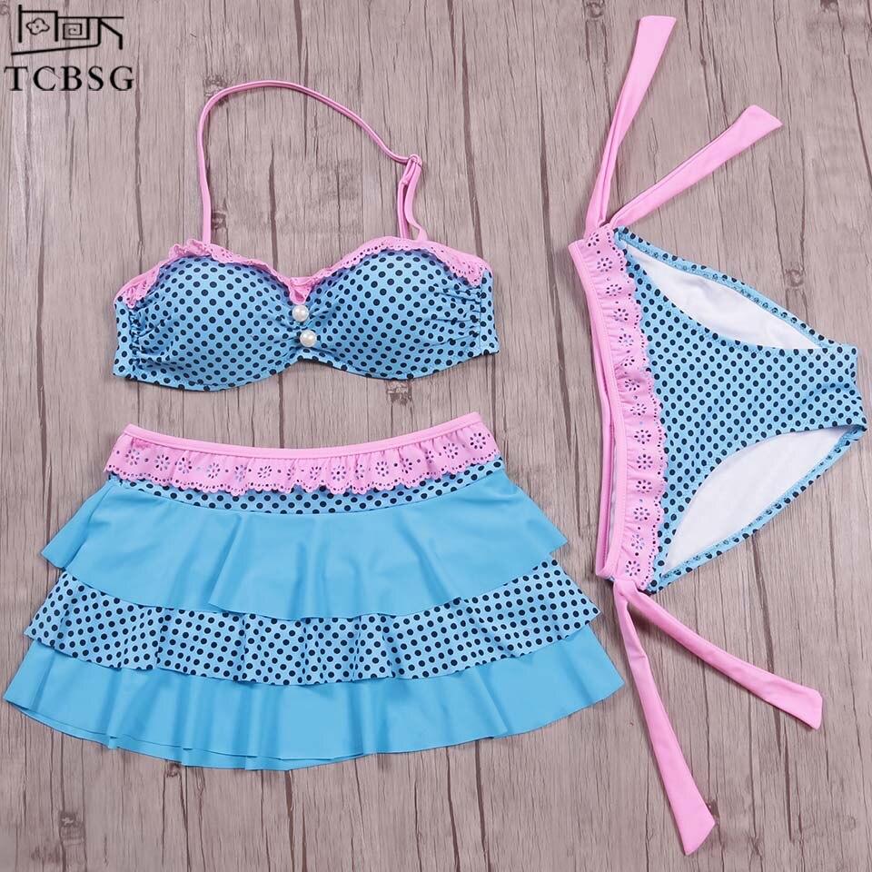 ¡Novedad de 2019! conjunto de Bikinis TCBSG, Bikini brasileño, traje de baño para mujer, bañador Halter, bañador L M