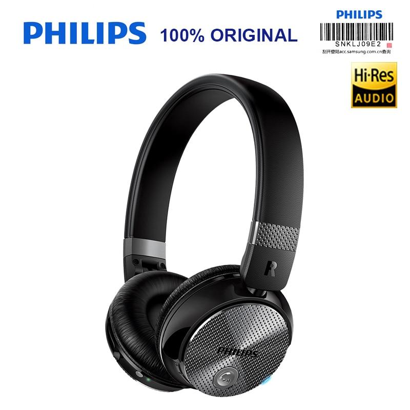 Auriculares NFC Philips Original SHB8850 con cancelación activa de ruido inalámbrico con batería de polímero de litio Bluetooth 4,0