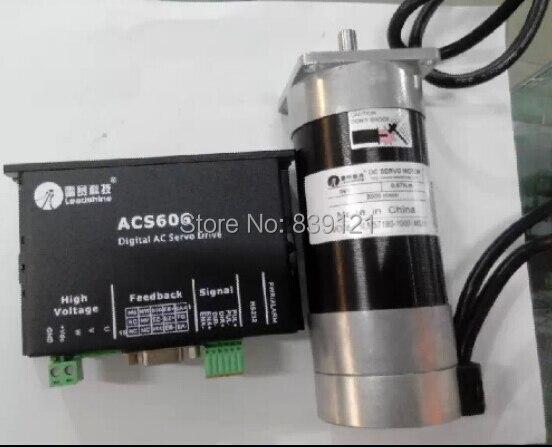 Leadshine 180 w BLM57180-1000 + dc محرك سيرفو سائق ACS606 24 v -36V مجموعة واحدة بالجملة