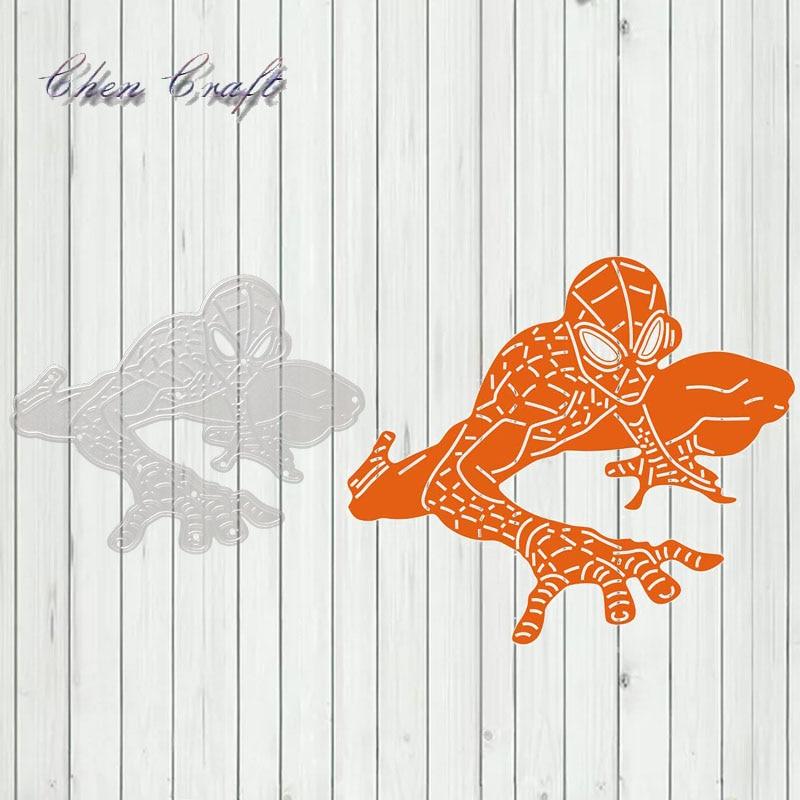 Guardian of Justice 4 Metal Cutting Dies Stencils Scrapbooking Decorative Embossing Folder Carbon Steel Paper Card DIY