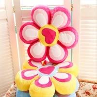 45 9 cm cartoons heart wedding gift corner flower pillow luxury florist at home decoration baby toys baby birthday gift